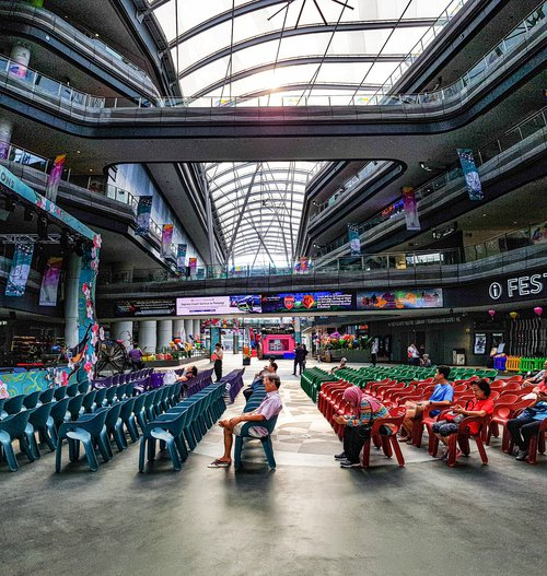 Festive Plaza of Our Tampines Hub