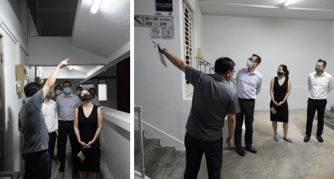 Lighting up a Smart Tampines Town