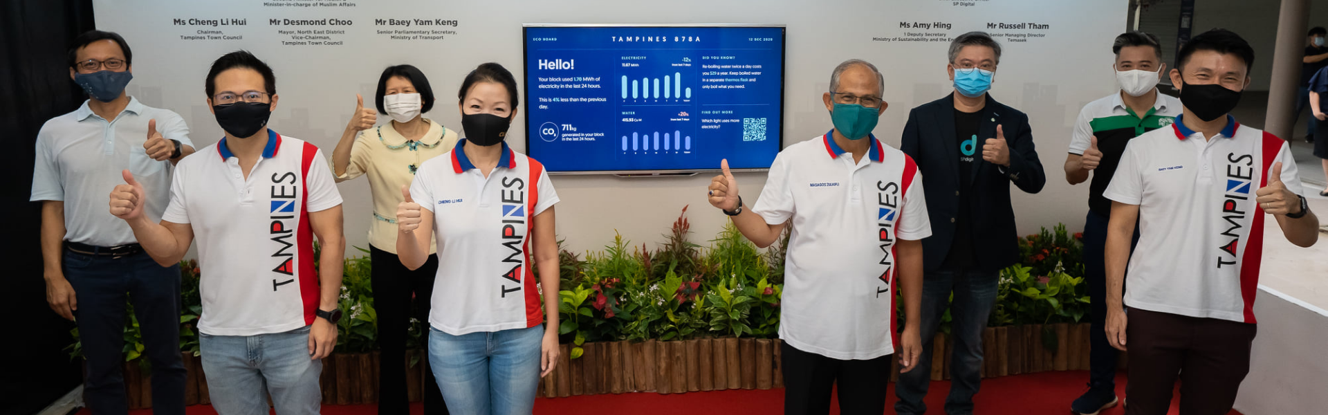 Eco Boards Show Residents' Utilities Consumption in Real-Time