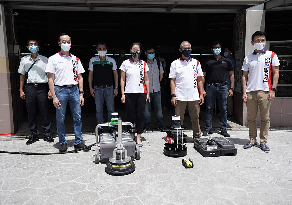 Leading the Way in Smart Technology with Robotics for Facilities Management