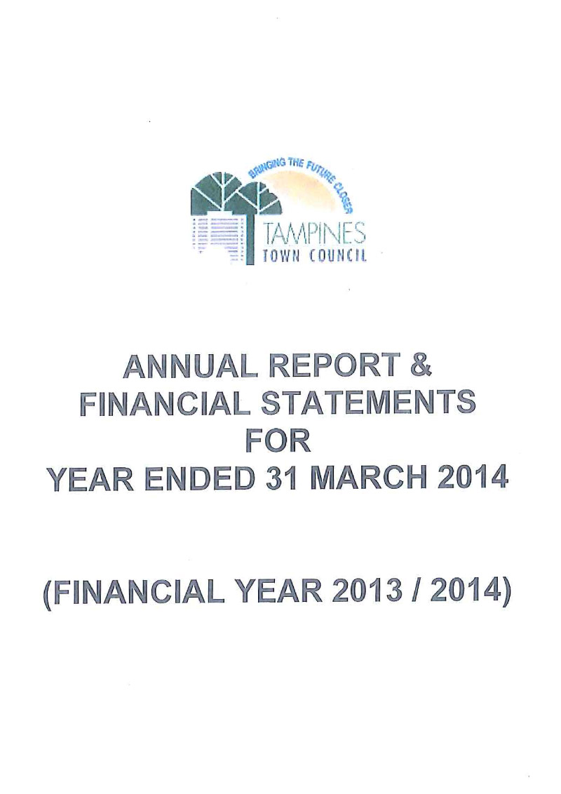 Annual Report FY 2013 / 2014